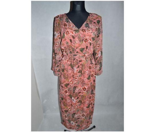 299*joe browns sukienka żorżeta 52/54 nowa