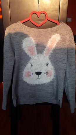 C&A sweterek królik 122 super