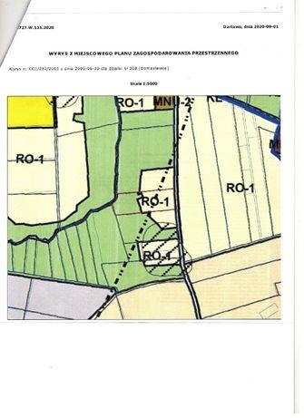 działka rolna 1,59 ha Domasławice, Darłowo