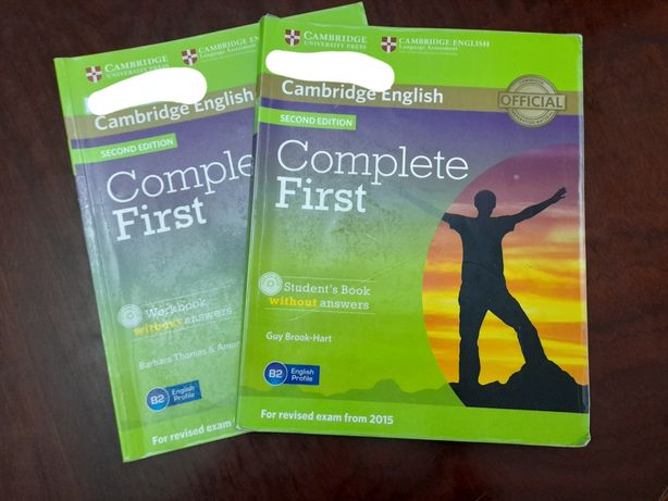 Complete first student`s book and workbook