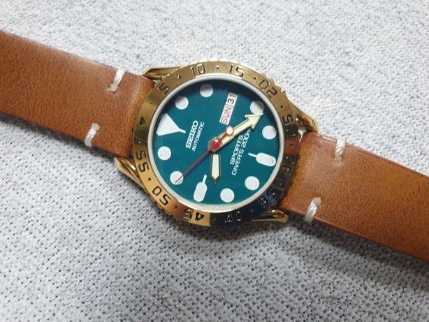 Zegarek Seiko 6309A Diver 17 jewels Nurek Jak Nowy