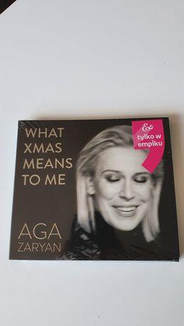 Zaryan Aga What Xmas Means To Me płyta CD, NOWA