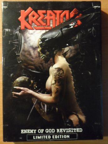 "KREATOR ""Enemy of God Revisited"" (2005, Steamhammer) DVD, thrash-metal"