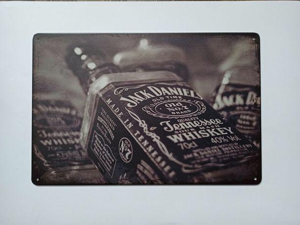 Nowy metalowy szyld Jack Daniels whysky loft barek ozdoba