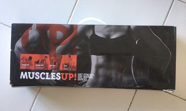 Fitness - Barra de Elevações - Novo / caixa