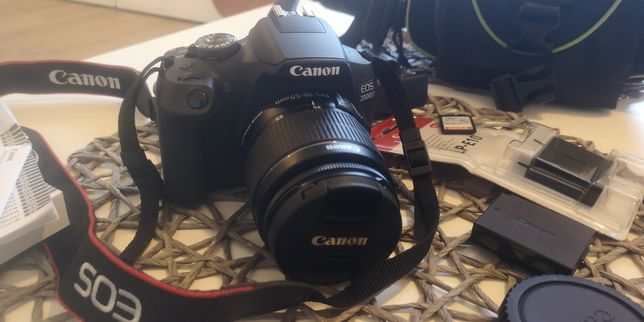 Lustrzanka cyfrowa Canon EOS 2000D GWARANCJA