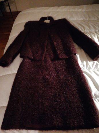 Conjunto vestido e casaco Don Algodon