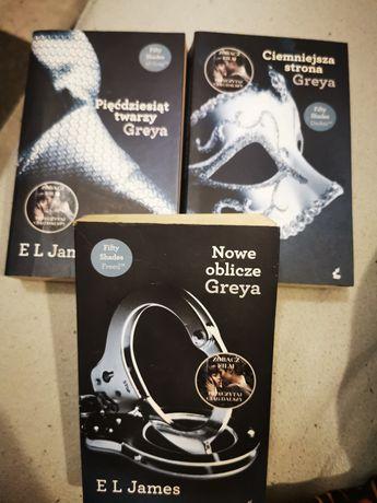 Trylogia Greya tomy I, II, III + Gray