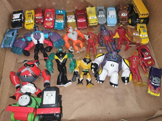 Zabawki Cars, Ben 10, Tomek