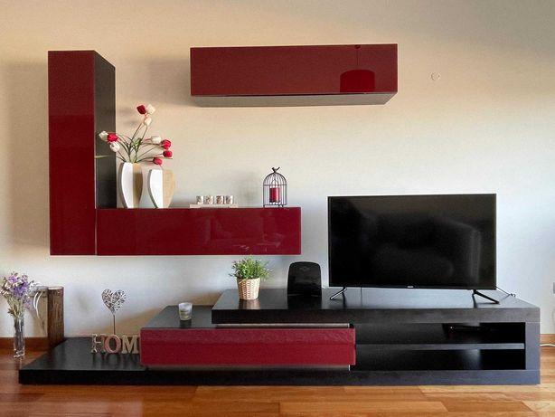 Composição móveis sala