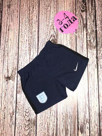 Фирменные шорты Nike для мальчика 3-4 года, 98-104 см