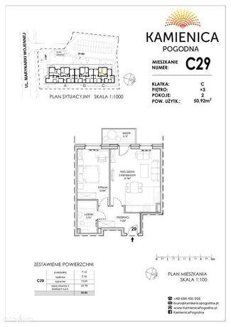 Mieszkanie w Kamienicy Pogodnej 51 m2