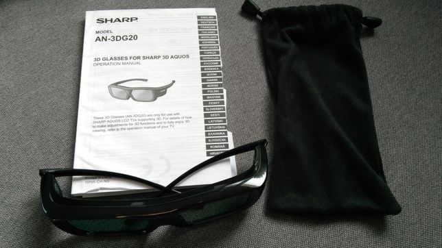 Okulary 3D Sharp