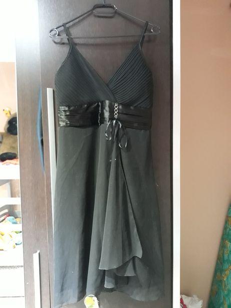 Czarna sukienka roz L