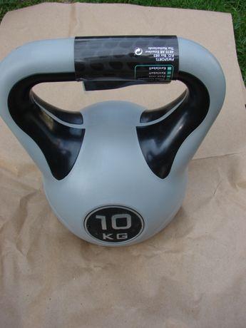 Fabrycznie Nowa Hantla Kettlebell 10 Kg Fitnes Rehabilitacja Jakość !
