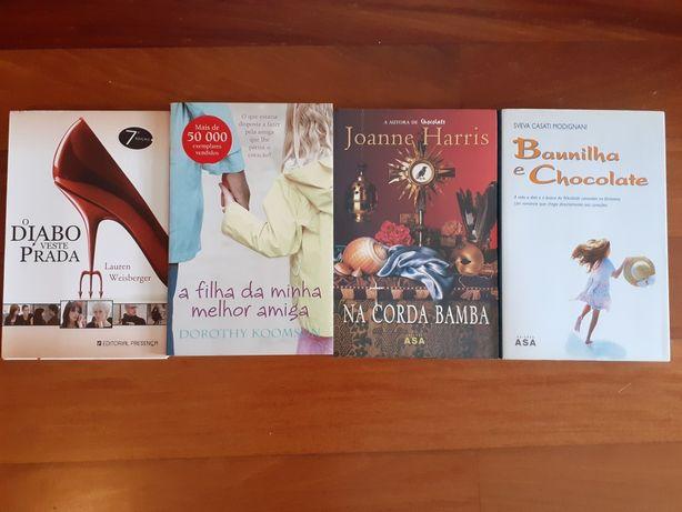 4 livros só 20€ ou 5€ cada