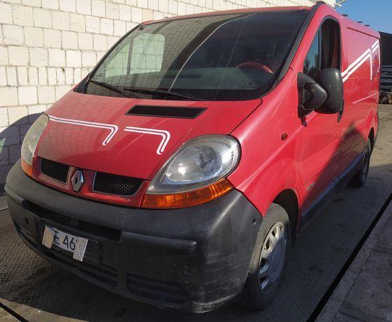 Renault Trafic II 1.9 DCI 02r Wszystkie Części Lakier OC70 Drzwi Maska