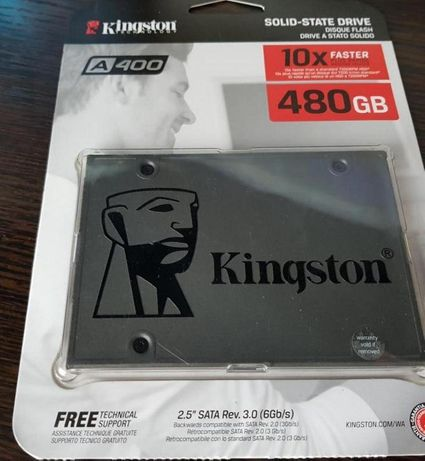 "Ssd 2.5"" 480GB Kingston SSDNow A400"