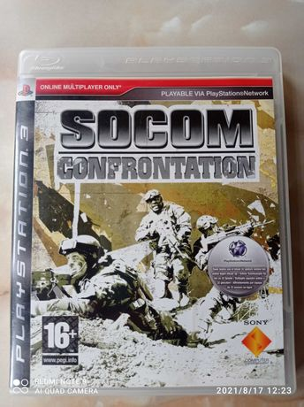 PlayStation 3 Socom Confrontation