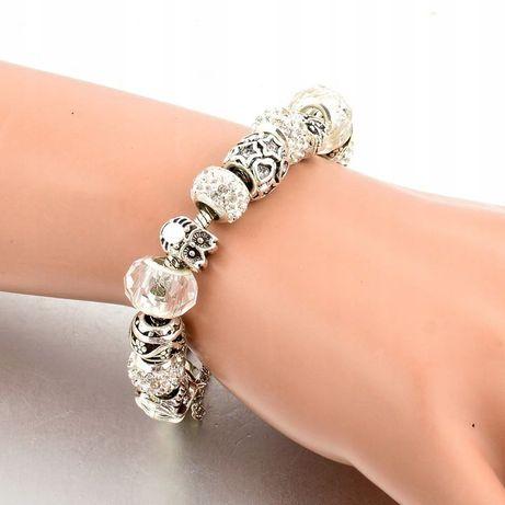 Bransoletka Modułowa Srebrna Do Pandora Charms Beads LIKWIDACJA SKLEPU