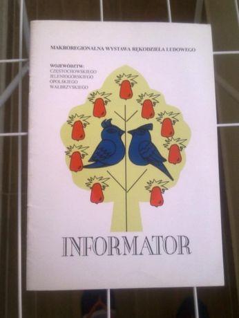 Informator Makroregionalna Wystawa Rękodzieła Ludowego