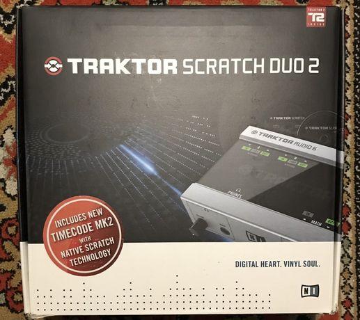 Native Instruments Traktor Scratch Duo 2