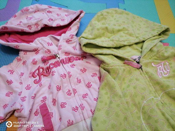 Komplet bluz dla niemowlaka rozmiar 56-74