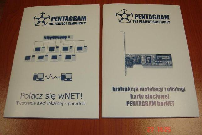 PENTAGRAM horNET sterowniki, oprogramowanie, instrukcja