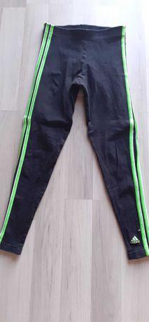 Oryginalne legginsy Adidas S/M fitness jogging siłownia rower