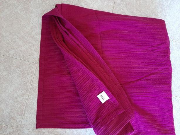 Colcha, coberta, manta violenta com 250 x 270, Gato Preto 100% algodão