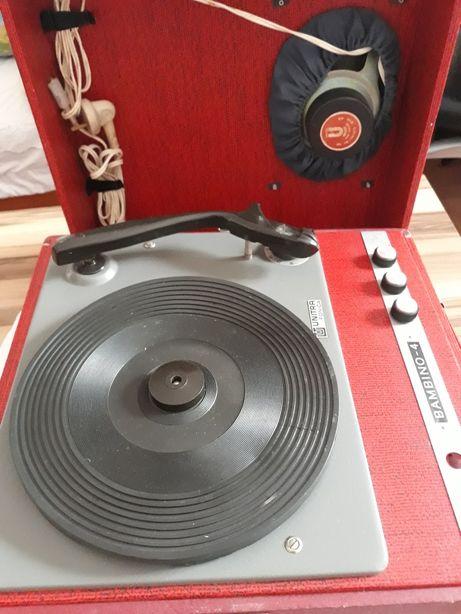 Gramofon na płyty
