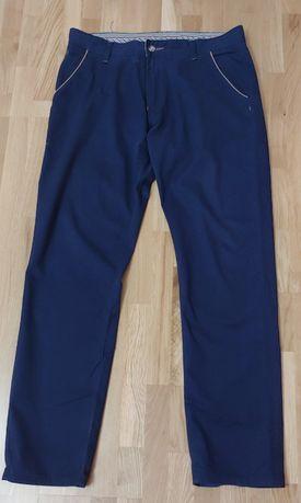 Eleganckie spodnie materiałowe męskie rozm. L/XL