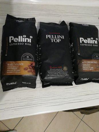 Kawy Pellini ziarniste