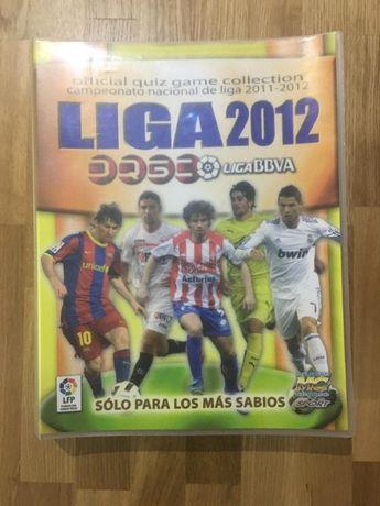 La Liga BBVA 2011 / 2012 Coleção Oficial Jogo Quiz Mundicromo