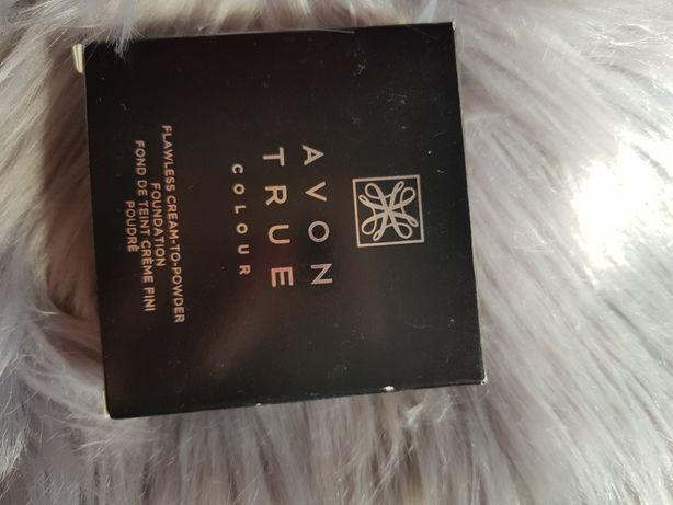 Podkład kremowo-pudrowy avon true colour