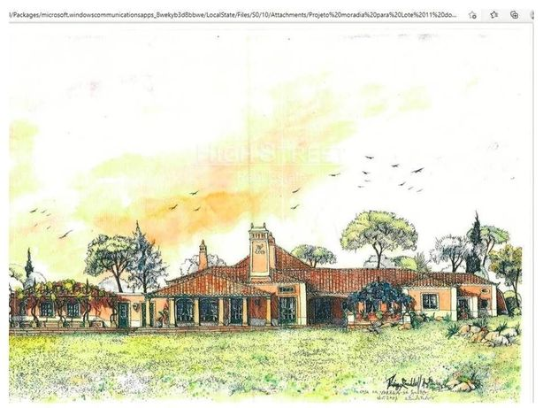 Terreno para Moradia de Luxo no Casal da Granja- Sintra