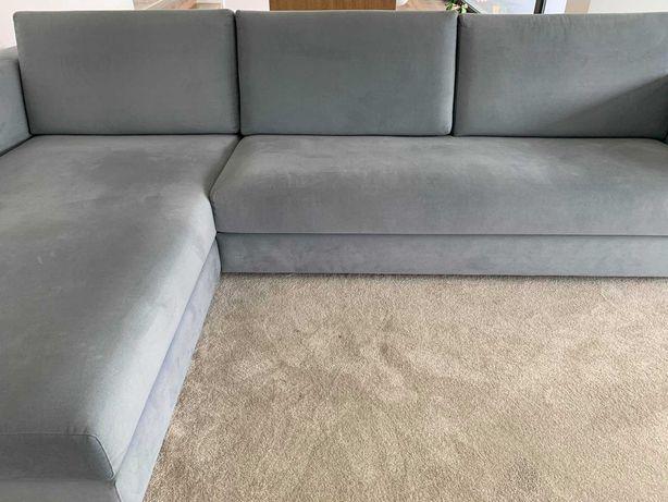 sofá com chaise longue, 3,20mx2m