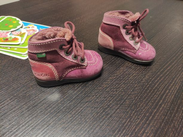 Кожаные ботиночки Kickers 11,5-12 см