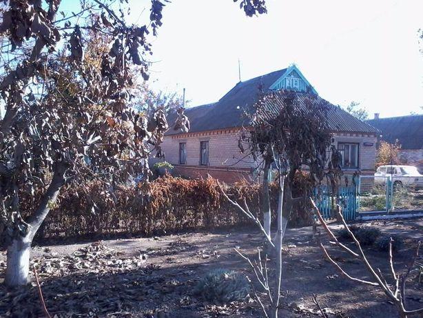 Кирпичный дом с удобствами пгт.Приазовское. Кредит на небольшой срок.