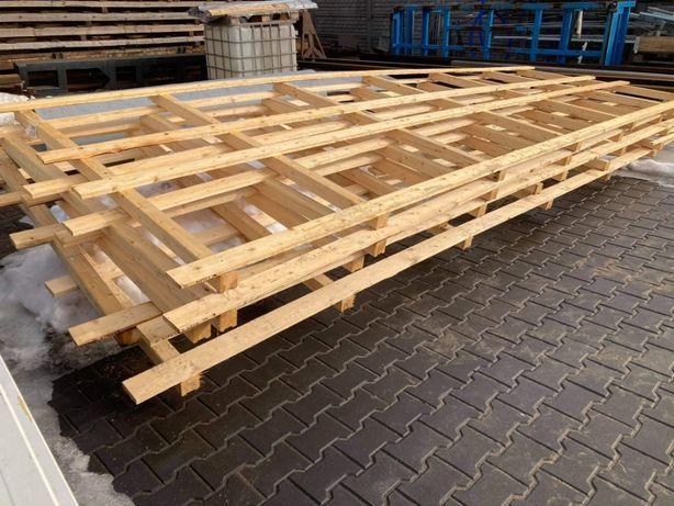 Palety drewniane formaty od 1500x3000 do 2000x8000 mm