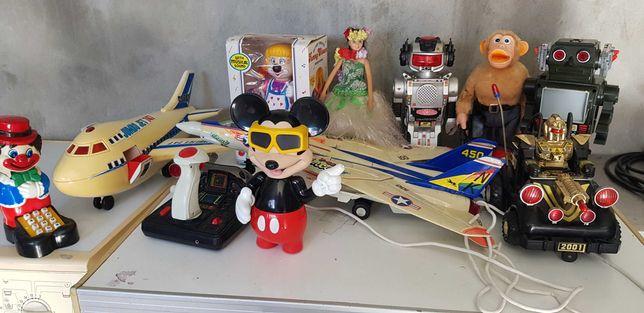 Lote Brinquedos Antigos