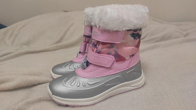 Nowe, zimowe buty, ocieplane