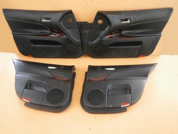 Дверные карты Lexus GS 05-13.Цена за 4 карты.