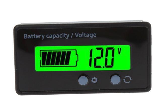 Wskaźnik do Akumulatorów Kwasowych i Litowych 8-70V