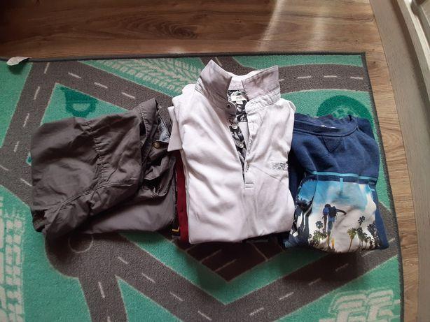 Paka ubrań chłopak 9-11lat bluza h&m polo tshirt 10szt