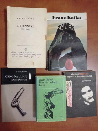 Nabokov Lolita Zaproszenie na egzekucję Babel Kafka Dzienniki