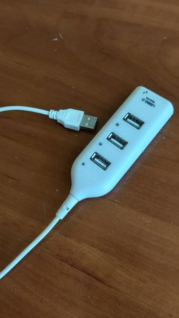 Переходник USB, 4 порта универсальная совместимость!