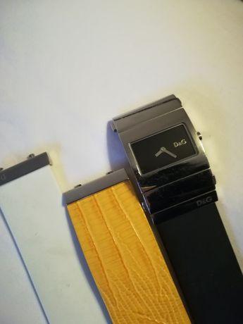 Relógio D&G com 3 pulseiras