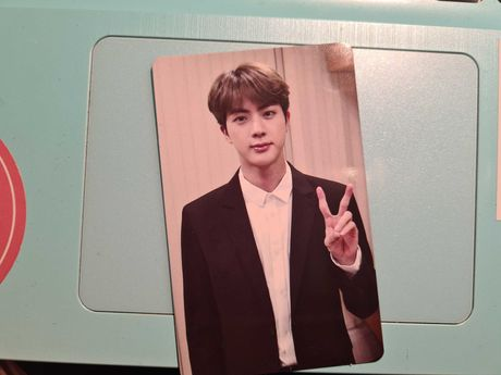 Karta Seokjin Memories 2018 photocard photo bts