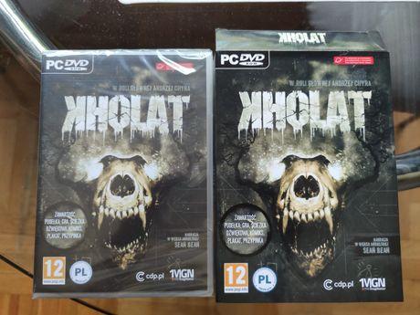 Kholat (PC, nowa, w folii): gra, ścieżka dźwiękowa, plakat, przypinka